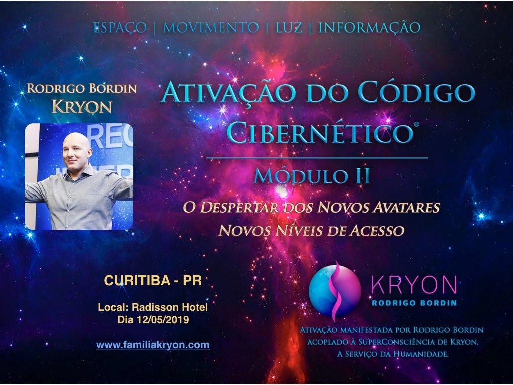 ATIVAÇÃO DO CÓDIGO CIBERNÉTICO® - </br> Módulo II - Curitiba - PR - Brasil