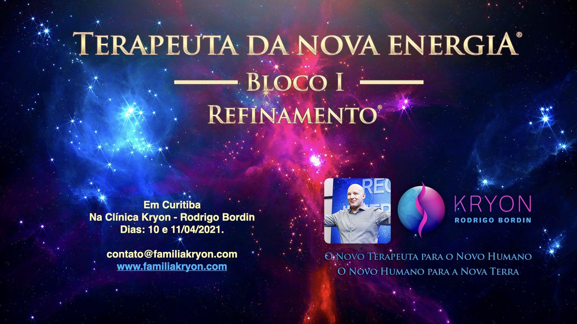 Terapeuta da Nova Energia - Bloco I - Refinamento
