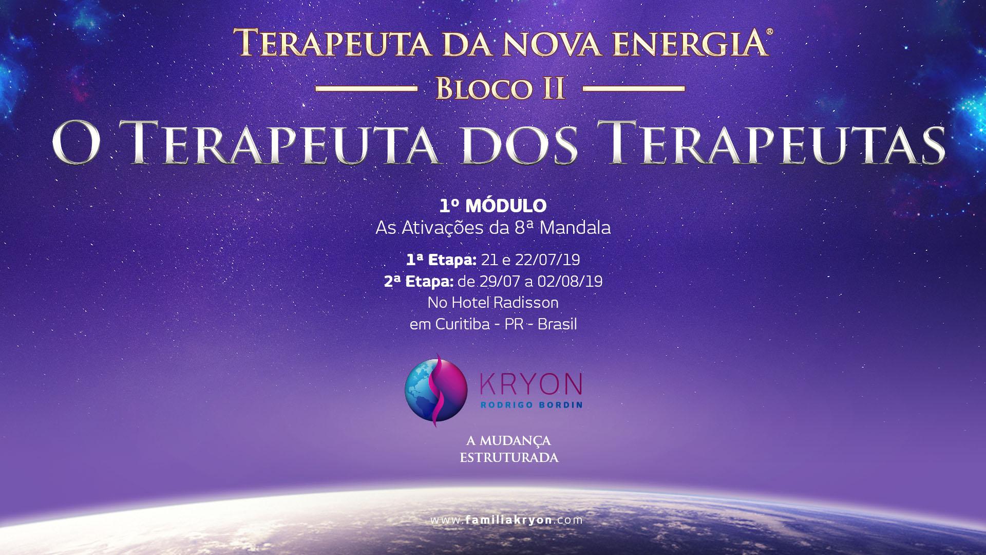 Terapeuta da Nova Energia - Bloco II - 1˚ Módulo - As Ativações da 8˚ Mandala