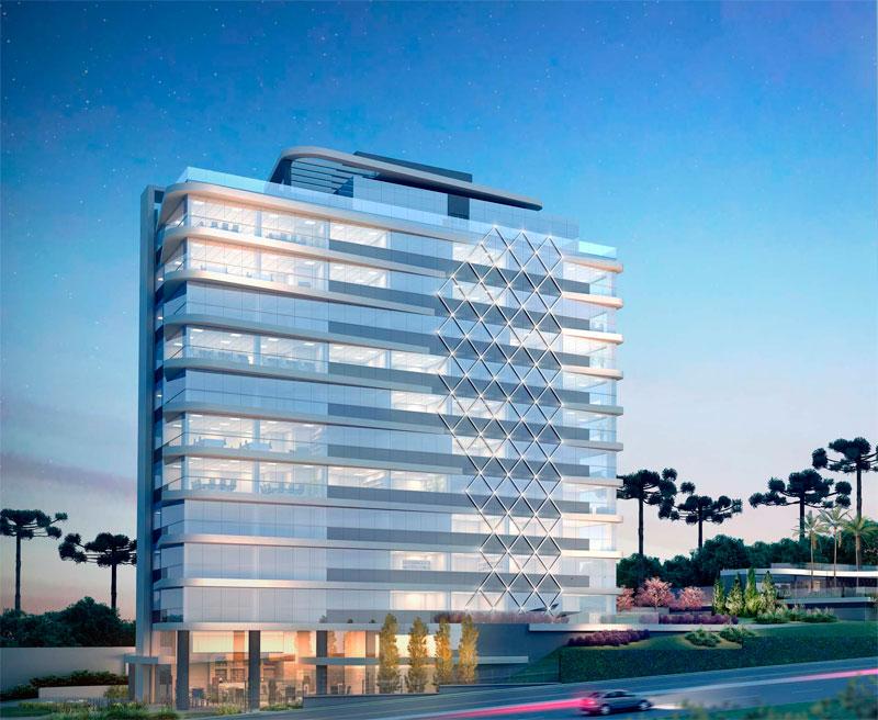 Estruturação da Sede do Centro Mundial de Ancoramento da Nova Energia em Curitiba