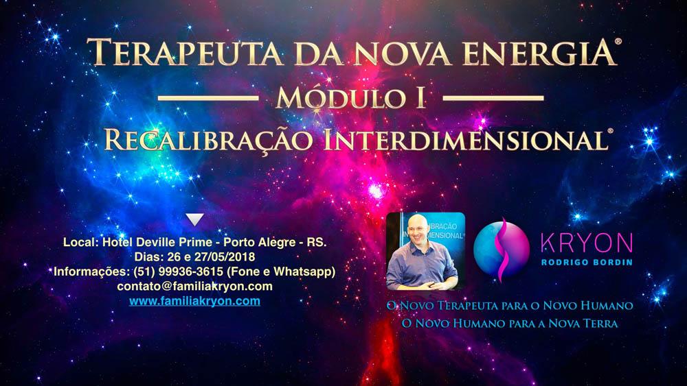Terapeuta da Nova Energia® </br> - Módulo I - </br> Recalibração Interdimensional®
